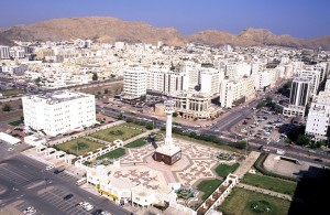 Muscat - a working city.