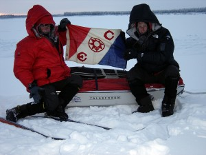 Two of our main sponsors in Siberia......