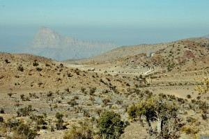 View over the camp where the trek start, called W 6....
