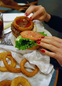 A good hamburger at the House of Coates will make such a difference when it comes to getting enough energy to keep extreme cold at bay!