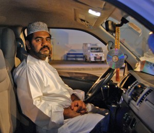 Abdullah - the driver which quit his job for the day to take us on a tour of Muttrah!