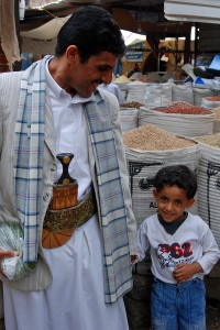 Yemenis, some of the friendliest and most peaceful people on earth.