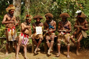 The Huli Whigman of Papua New Guinea impressed me a lot with there attitude to life. A lot had to do with their hair.....
