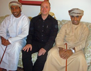 Together with Salim Al-Wahibi and Nasr Al-Tabi, trying to figure where the next Expedition will go....