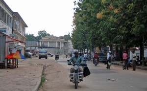 Downtown Kisangani looked pretty much the same as when I came through here on a push bike 1989. Even though that had faced two devastating wars since then.