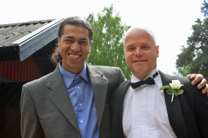 I have met a lot of great people since I came back to Sweden, my old friend Nima for example. Who knows what will happen if we put our knowledge together?