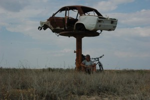 Kazakhstan has a lot of steppe, but thats not all.  There were many things unlike anything else I had seen, even in Australia. There are beautiful wastelands of the Sahara and the Middle East that provides the same kick, but these areas are much drier.  In Kazakhstan, there are still plants which gives life to the area. 