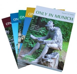 The first five Only in... guides, with Hamburg just published, and Cologne and Istanbul in preparation