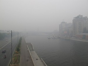 """The Russian authorities swiftly switched into Soviet mode and all news shows began with the words – """"Half of the forest fires in European Russia has now been extinguished""""."""