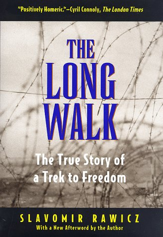 The controversial book The Long Walk - The True Story of a Trek To Freedom who started all these articles.