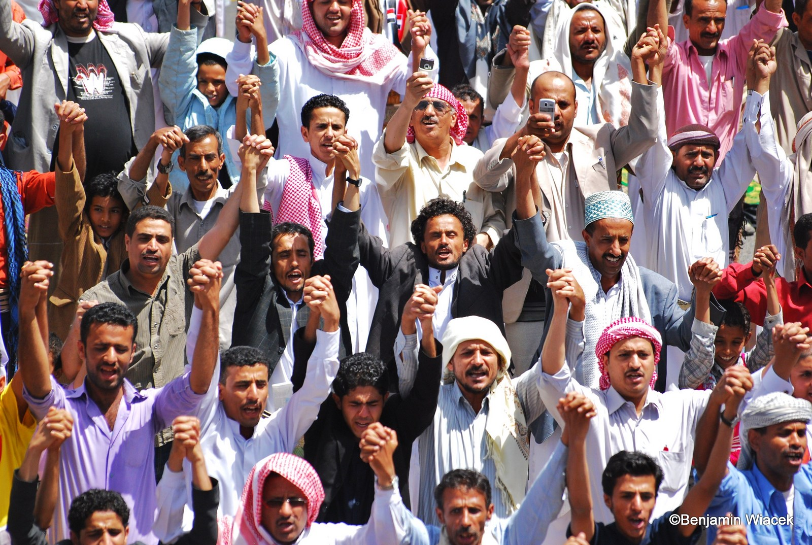 yemeni people united against Saleh