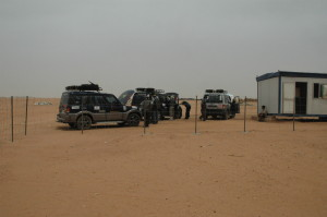 1 Sudanese Customs office at Argine checkpost