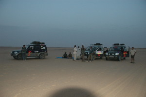 3 Dawn in Libyan Desert