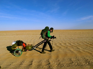 Entering-the-Gobi,-Day-1