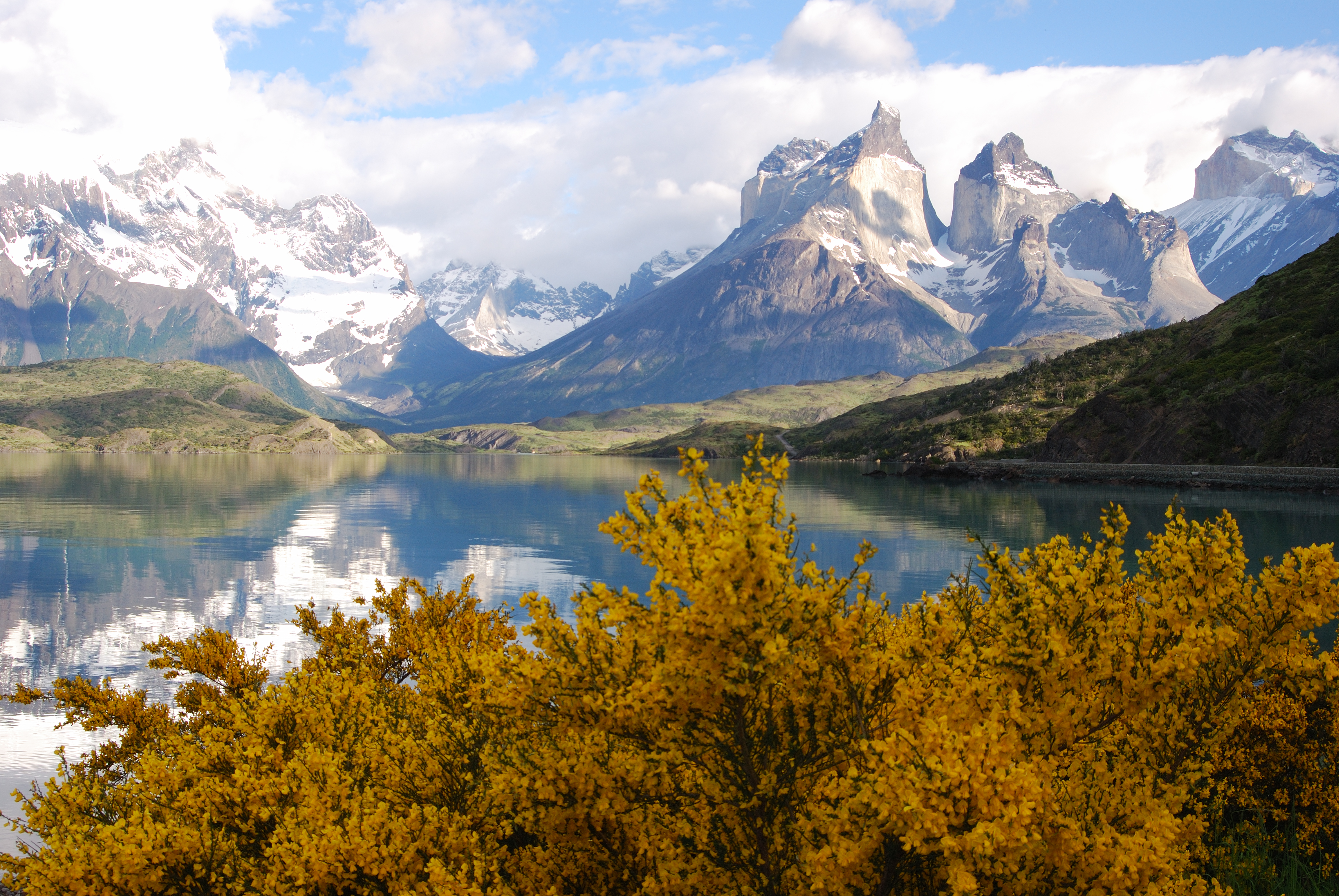 ...or hike in the area of Torres del Paine in Patagonia, or....